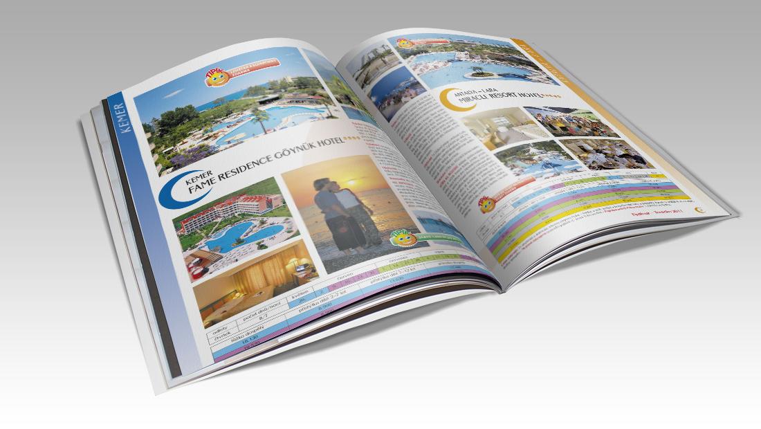 Ukázka katalogu cestovní kanceláře